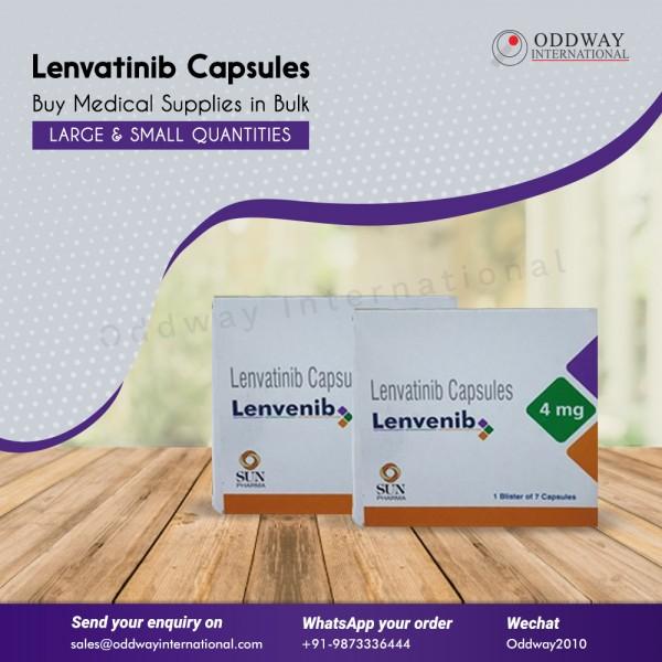 Lenvenib 4mg Lenvatinib Capsule Nhà cung cấp, Nhà xuất khẩu - Oddway International