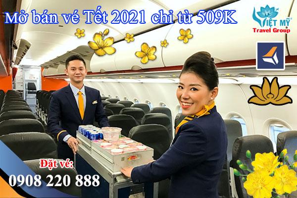 Liên doanh VNA & Pacific Airlines mở bán vé Tết chỉ từ 509K
