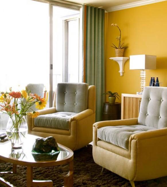 Liên kết không gian nhà ở bằng màu sắc tinh tế