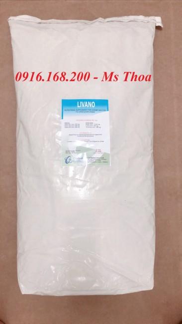 LIVANO - Vitamin tổng hợp nhóm B, bổ gan, giải độc gan, ổn định chức năng gan tôm cá