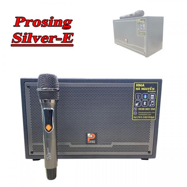 Loa Du Lịch Xách Tay Tốt Nhất Hiện Nay Prosing W-Silver-E