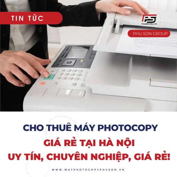 Lợi ích khi bảo trì máy photocopy định kỳ