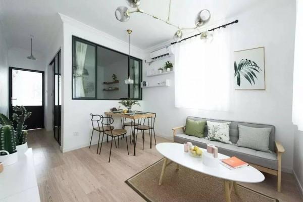 Lột xác căn hộ cũ với gam màu trắng- đen thanh lịch