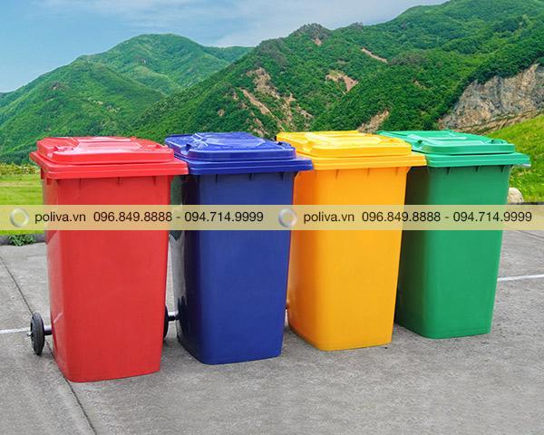 Lý do nên sở hữu thùng rác được phân phối bởi Poliva