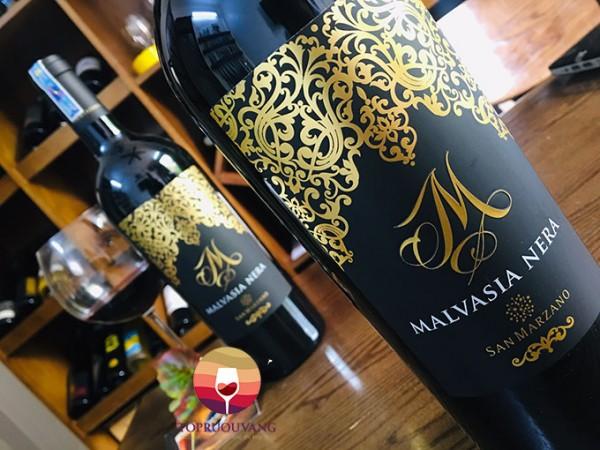 M Malvasia Nera lựa chọn hoàn hảo làm quà biếu Tết