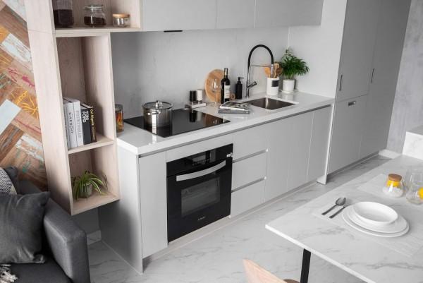 Mách bạn những mẫu tủ bếp đơn giản và hữu dụng