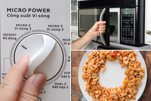 Mách bạn sử dụng lò vi sóng tiết kiệm điện