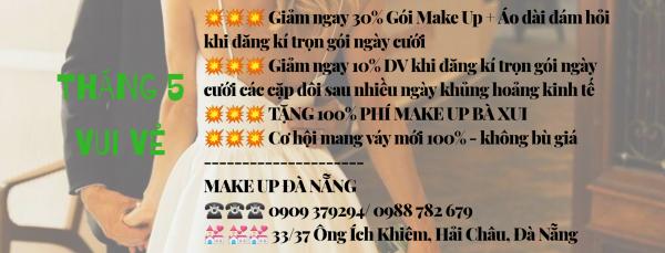 Make Up trọn gói tận nhà Đà Nẵng