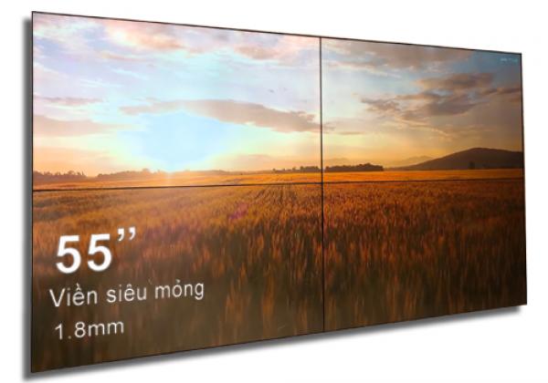Màn hình ghép videowall LCD chính hãng giá tốt