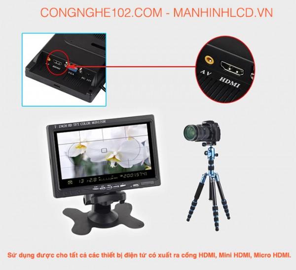 Màn hình LCD 7 inch HDMI Full HD 1920x1080