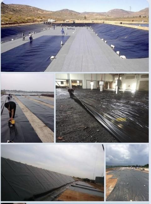 màng/bạt HDPE 3 lớp - nilon lót sàn bê tông