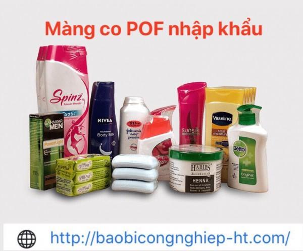 Màng co POF, PVC túi cắt theo kích thước yêu cầu bọc chai,lọ, hộp | Cty Hưng Thịnh – 0972 998 132