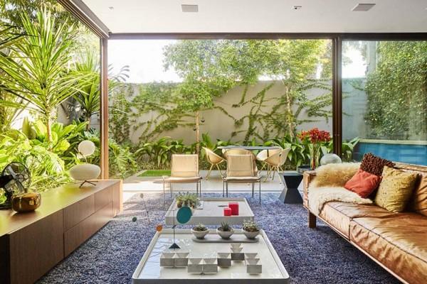 Mang những yếu tố thiên nhiên vào nhà