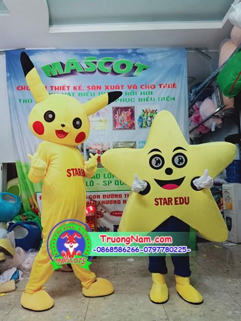 mascot ngôi sao,mascot quảng cáo