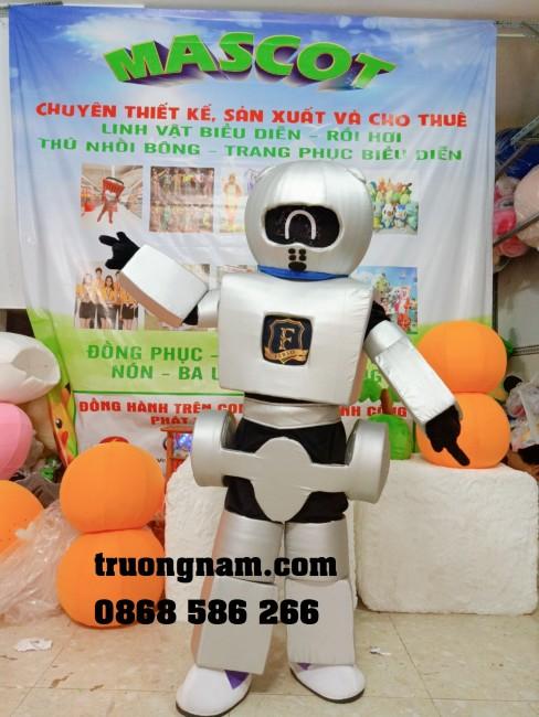 Mascot robot, linh vật biểu diễn