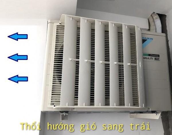 Mặt nạ điều chỉnh hướng gió dàn nóng máy lạnh giá rẻ