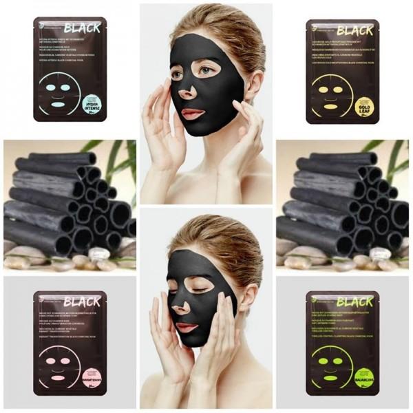 Mặt nạ timeless than hoạt tính làm mát và sáng da giúp tăng cường đọ ẩm cho da