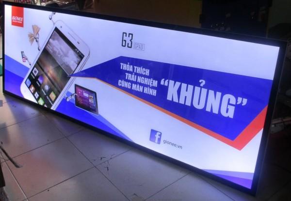 Mẫu biển quảng cáo hộp đèn tham khảo chi tiết