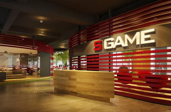 Mẫu thiết kế nội thất văn phòng cho công ty S Game cực đỉnh