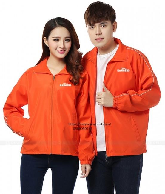 may áo gió đồng phục nhà hàng khách sạn Thái Nhuyên