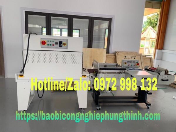 Máy bọc màng co bán tự động thao tác nhanh, dế sử dụng | Cty Hưng Thịnh | 0972 998 132