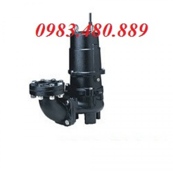 Máy bơm xử lý nước thải 50U2.75, bán máy bơm chìm Tsurumi dòng U,máy bơm chìm 50U2.75S