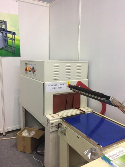 Máy cắt chữ L bọc màng co POF | Cty Hưng Thịnh | 0972 998 132