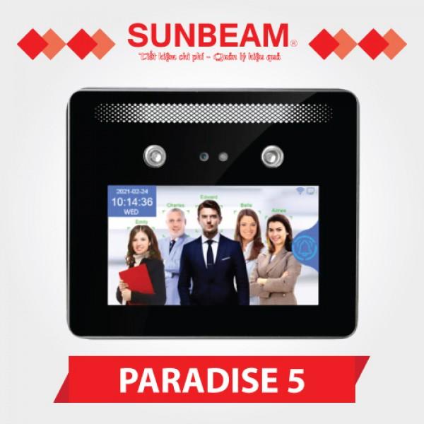 Máy chấm công khuôn mặt Sunbeam Paradise 5