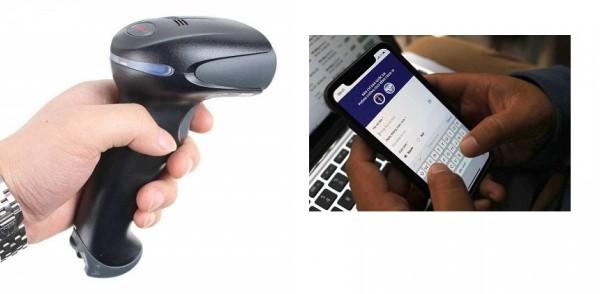 Máy đọc mã QR trong khai báo y tế. Một số loại máy đọc mã QR tốt nhất