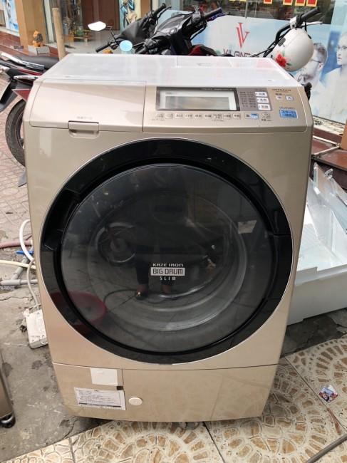 Máy giặt cũ có sấy Hitachi BD-S7400 (còn mới 90%)