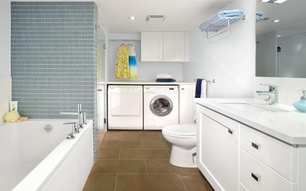 Máy giặt để trong nhà tắm cần những lưu ý đặc biệt