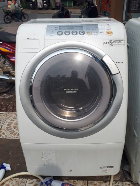 Máy giặt National NA-VR1200, giải pháp tốt cho căn hộ chung cư nhỏ