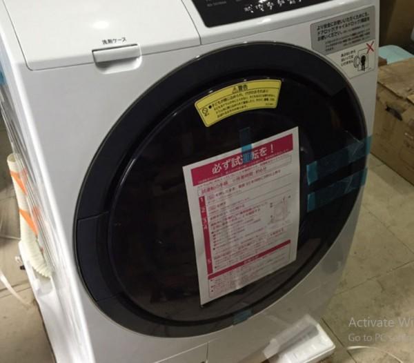 Máy giặt nội địa nhật Hitachi BD-SG100AL tiện ích, Zin tại Hải Phòng