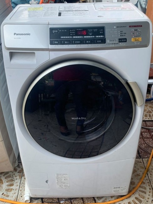 Máy giặt PANASONIC NA-VH300L cho gia đình ít thành viên, nhà nhỏ nhỏ