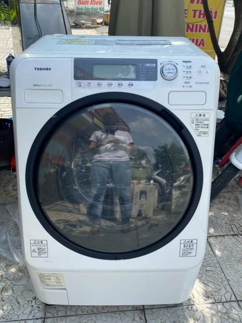 Máy giặt TOSHIBA TW-250VG-W có sấy, tiện lợi cho mùa mưa (giặt 9kg, sấy 6kg)