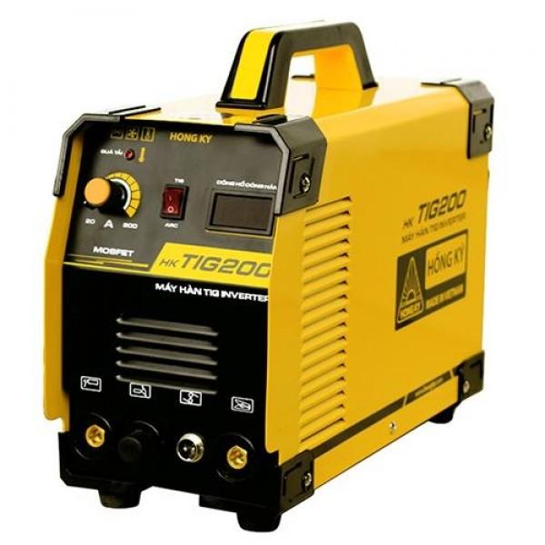 Máy hàn Tig que Inverter HK TIG 200 tiết kiệm điện giá tốt