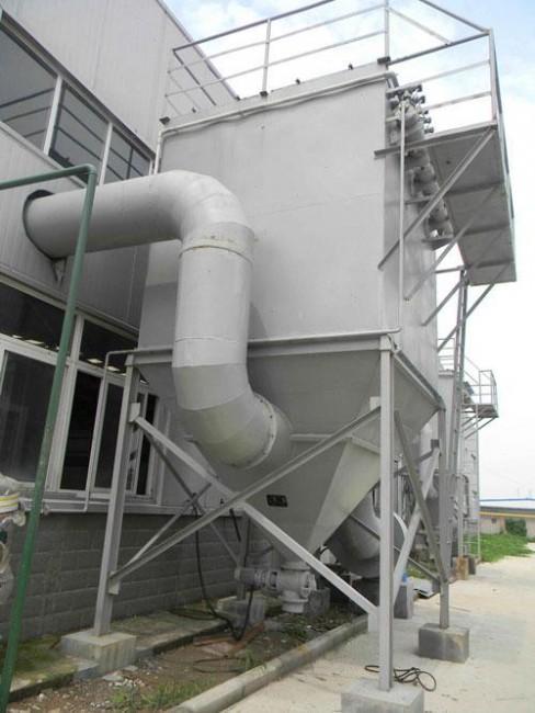 Máy hút bụi xung công nghiệp DMC