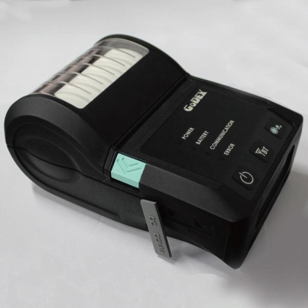Máy in mã vạch di động Godex MX30, máy in tem nhãn cầm tay
