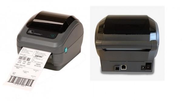 Máy in nhiệt để bàn Zebra GK420d, máy in mã vạch để bàn