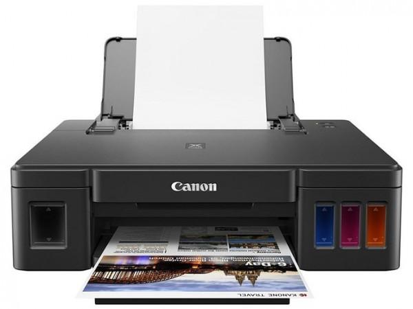 Máy in phun màu Canon G1010 bộ tiếp mực  chính hãng