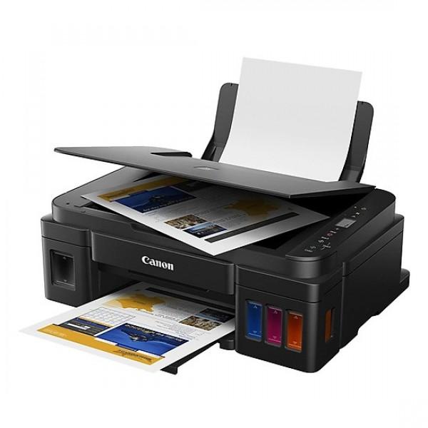 Máy in phun màu đa năng Canon G2010 in, copy, scan