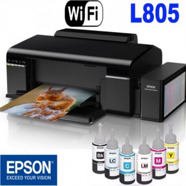 Máy in phun màu in ảnh chất lượng cao Epson L805