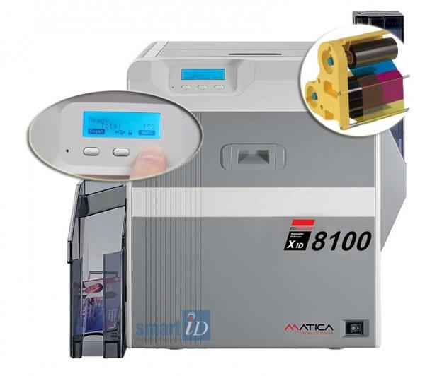 Máy in thẻ nhựa chuyển tiếp XID8100/8300