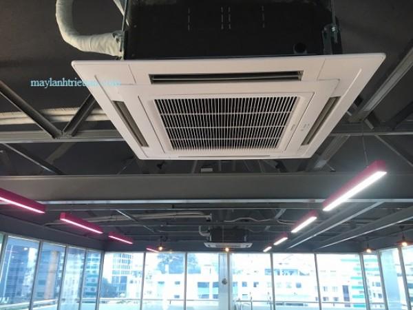 Máy lạnh âm trần cho công trình giá giảm 10% - máy lạnh âm trần 4hp