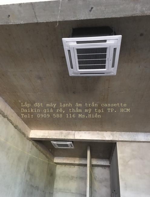 Máy lạnh âm trần Daikin - Đơn vị uy tín tại TP.HCM