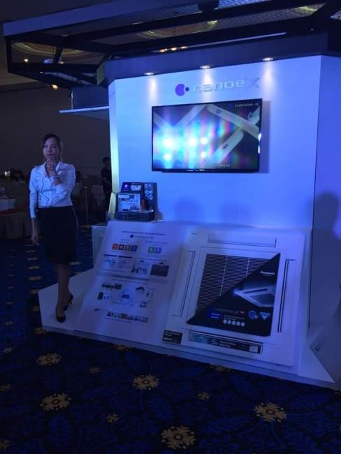 Máy lạnh âm trần Panasonic S-43PU2H5-8/U-43PS2H5-8 Inverter công suất 5HP