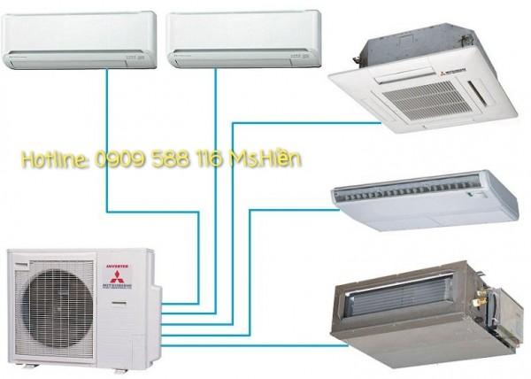 Máy lạnh Multi Mitsubishi Heavy - Sản phẩm chính hãng - Giá sỉ