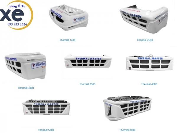Máy lạnh thermal master, lắp máy lạnh thùng xe tải, máy lạnh thùng đông lạnh giá tốt nhất