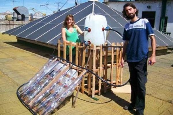 Máy nước nóng năng lượng mặt trời vừa tiết kiệm vừa thân thiện