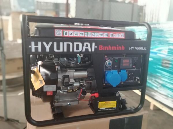 Máy Phát Điện gia đình Hyundai chạy xăng 5kw HY7000LE